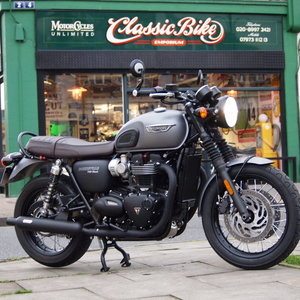 2017  T120 Bonneville 1200cc New Version In As New Condition. SOLD