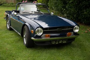 1972 TR6 PI For Sale
