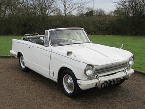 1969 Triumph Herald 12/50 Convertible at ACA 25th January