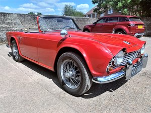 1964 LHD EX-CALIFORNIA TRIUMPH TR4 O/D+MOT 01/21 For Sale