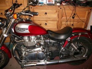 2002 Triumph Bonneville America.