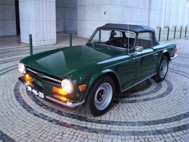 1974 Triumph TR6 OV LHD SOLD (picture 6 of 6)
