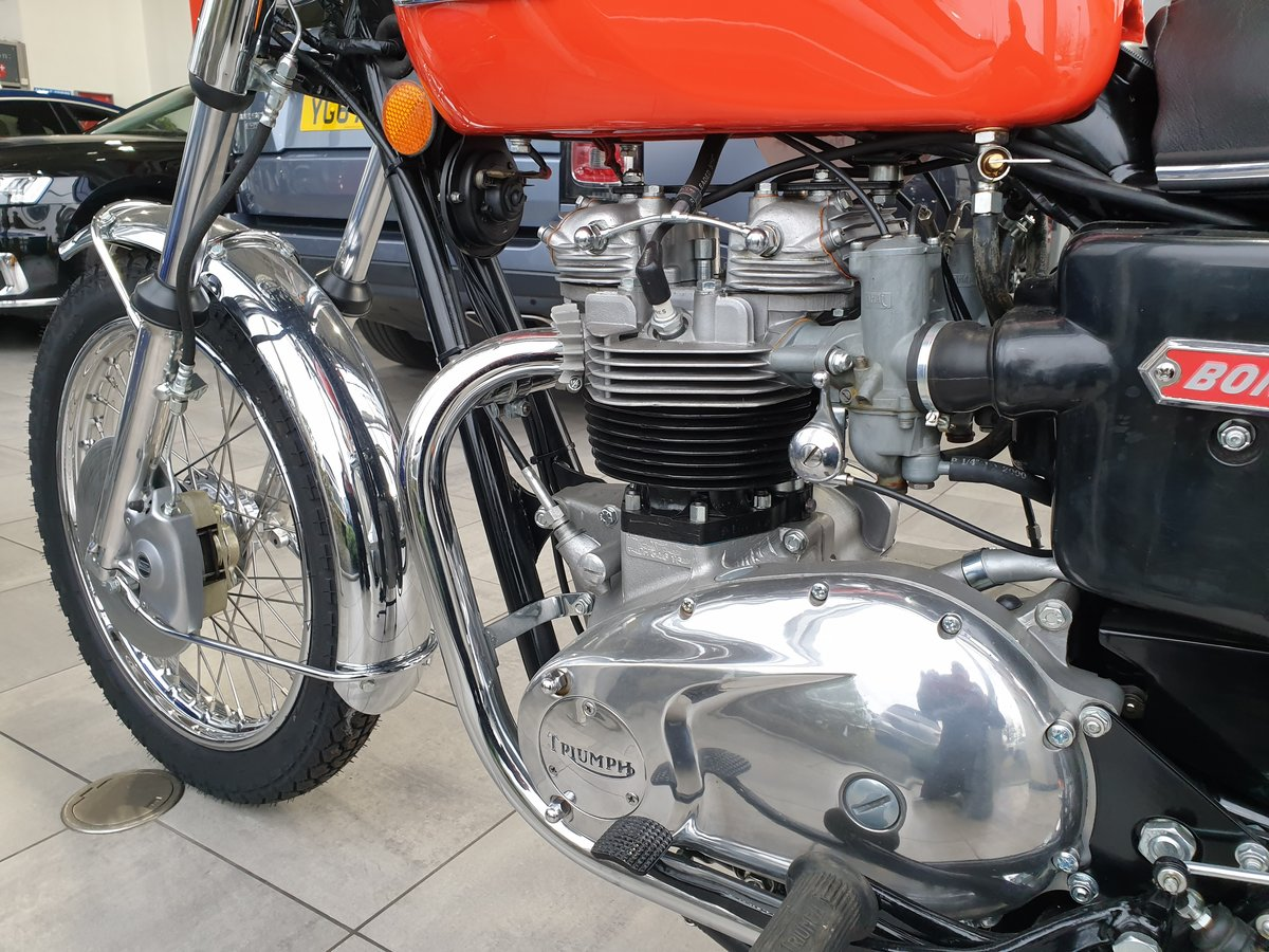 1973 Triumph T140V Bonneville Totally Restored For Sale (picture 4 of 6)