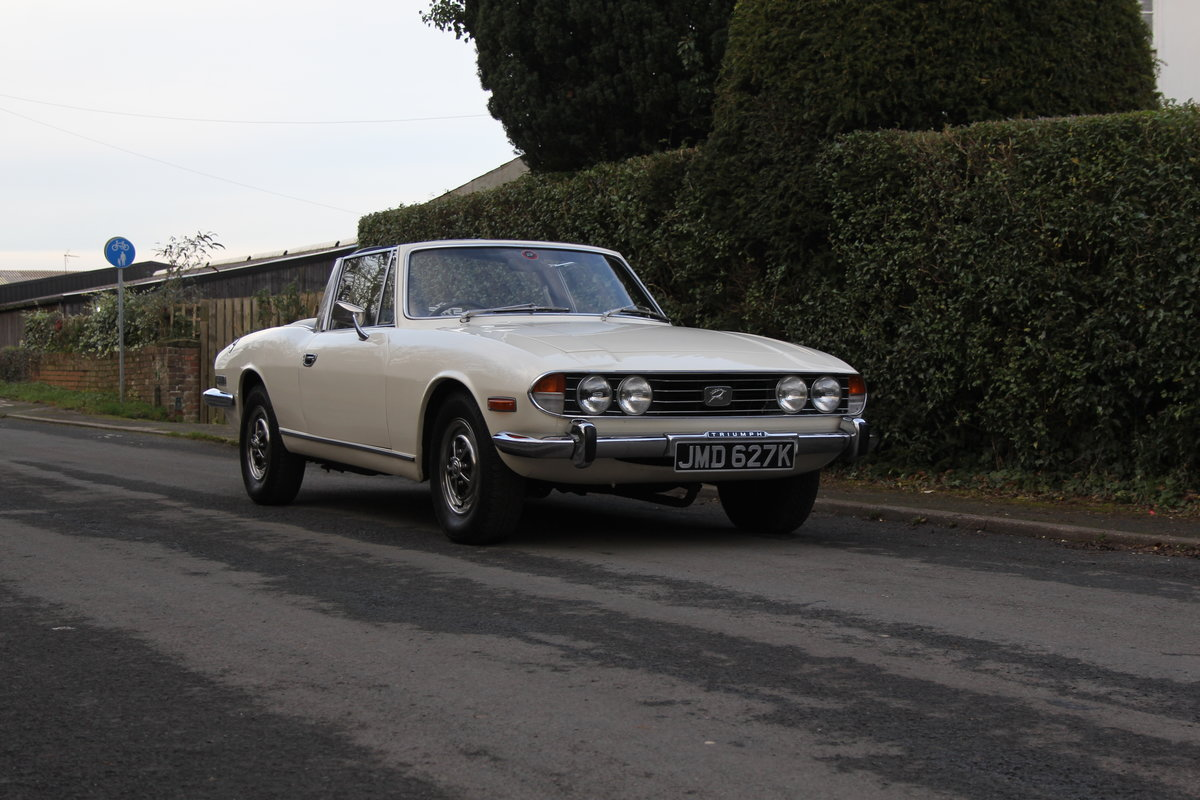 1971 Triumph Stag MKI Manual with Overdrive For Sale (picture 1 of 23)