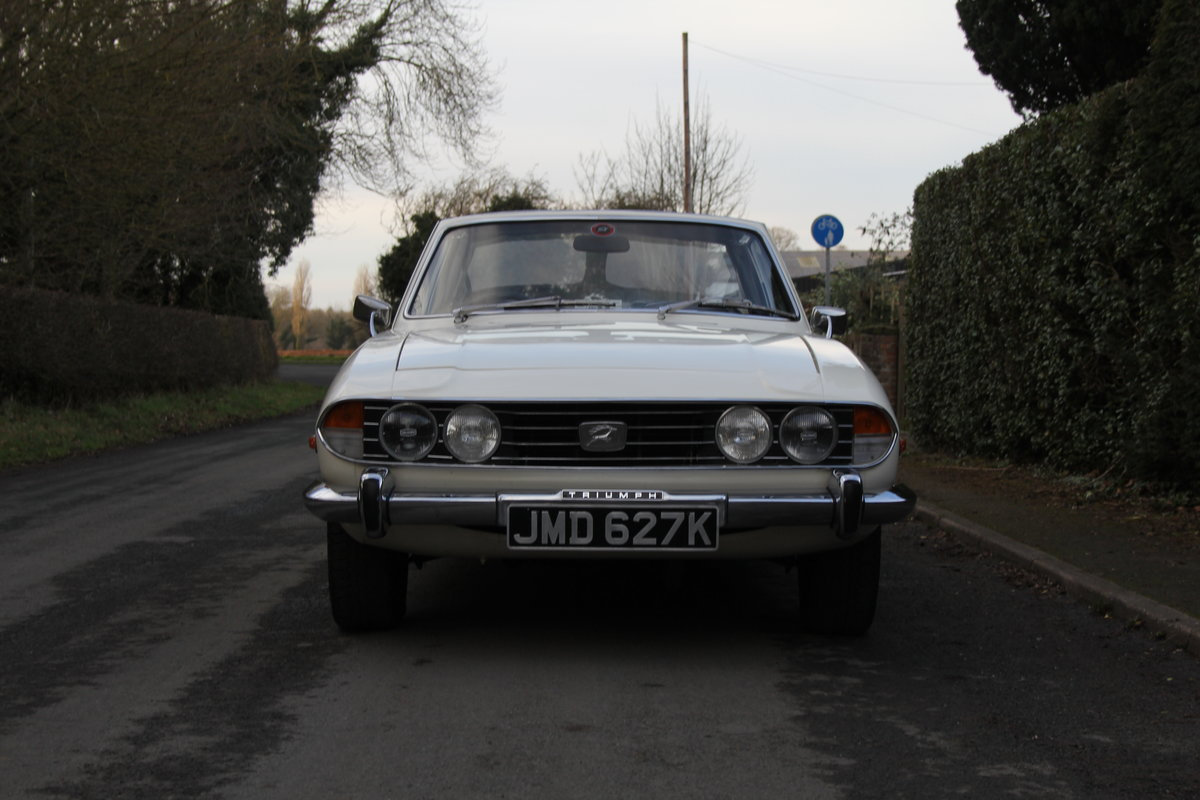 1971 Triumph Stag MKI Manual with Overdrive For Sale (picture 2 of 23)