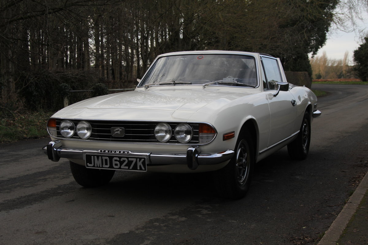 1971 Triumph Stag MKI Manual with Overdrive For Sale (picture 3 of 23)