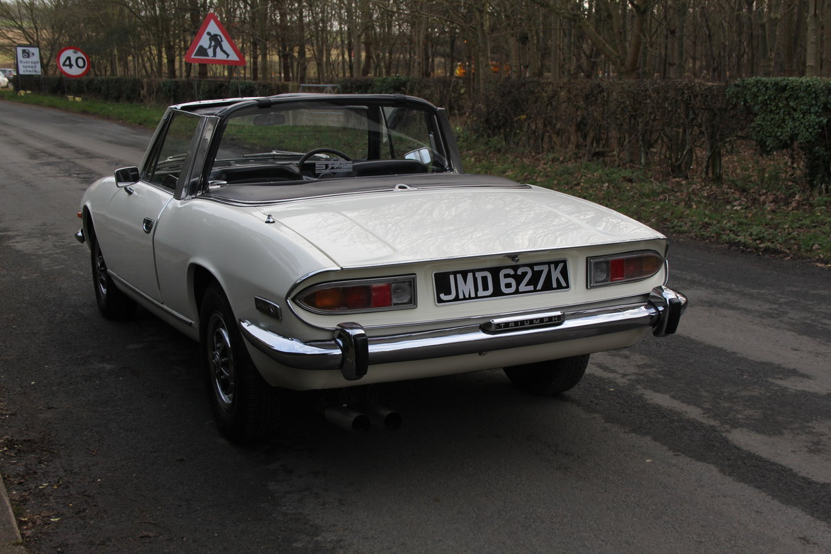 1971 Triumph Stag MKI Manual with Overdrive For Sale (picture 4 of 23)