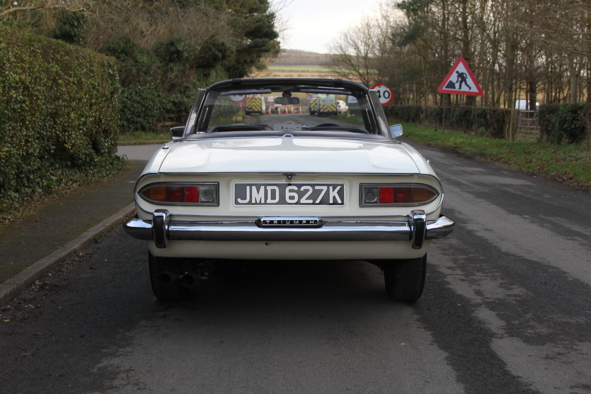 1971 Triumph Stag MKI Manual with Overdrive For Sale (picture 5 of 23)