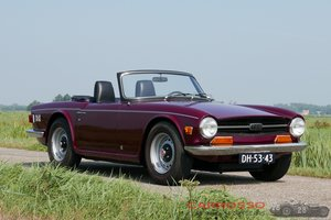 1971 Triumph TR6 in good condition