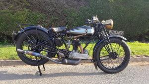 1928 Triumph 494c.c. Model N De Luxe