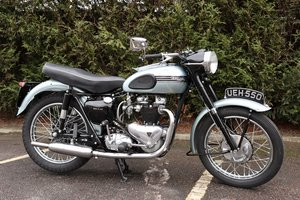 Triumph T110 1954 650cc Matching Number & Restored For Sale