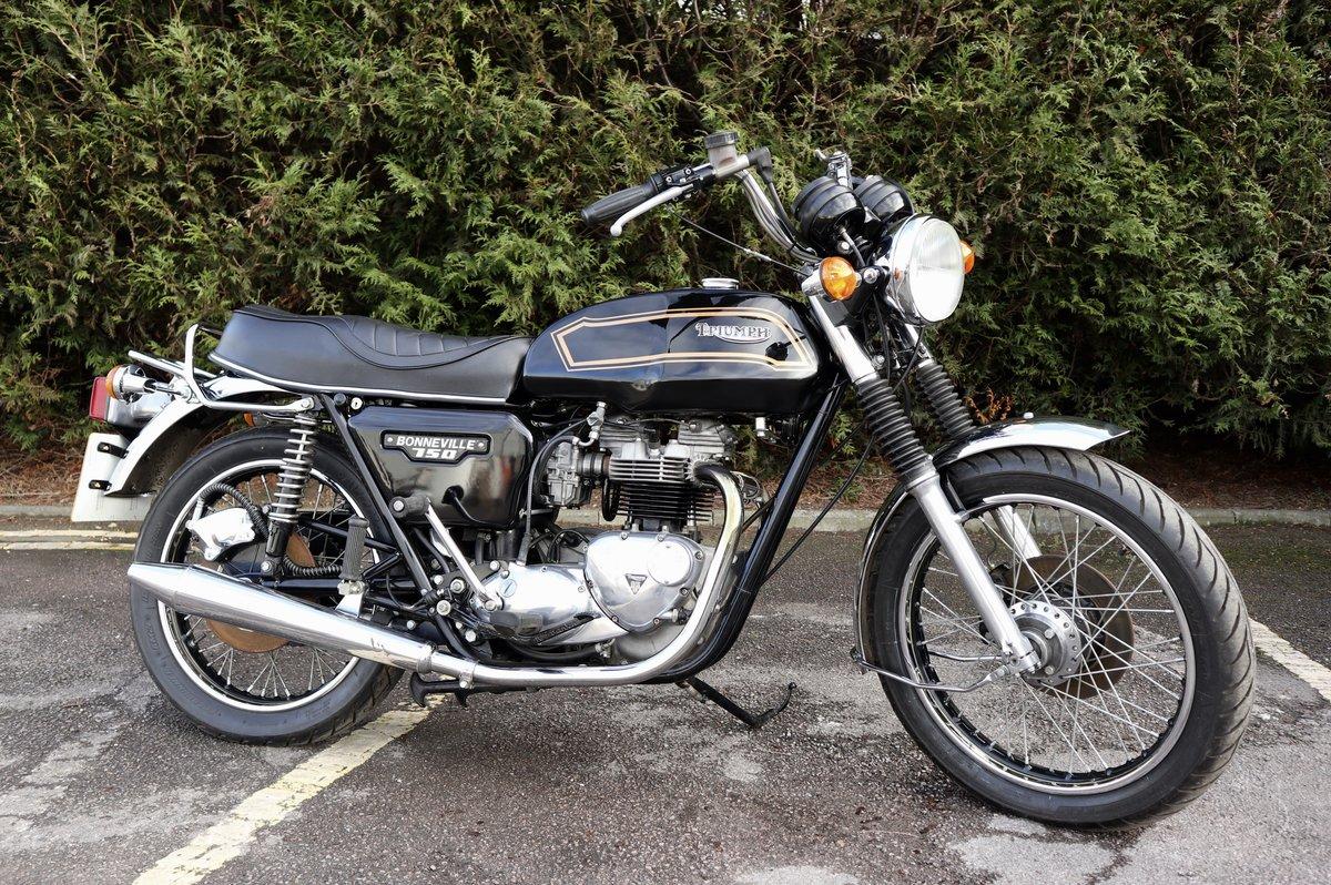 1980 Triumph T140 Bonneville 750cc Matching Number For Sale (picture 1 of 6)