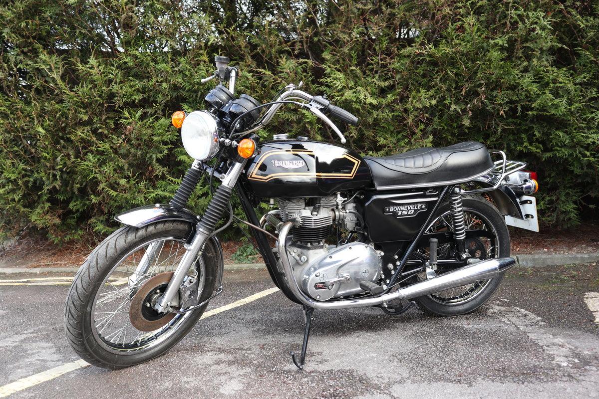1980 Triumph T140 Bonneville 750cc Matching Number For Sale (picture 2 of 6)