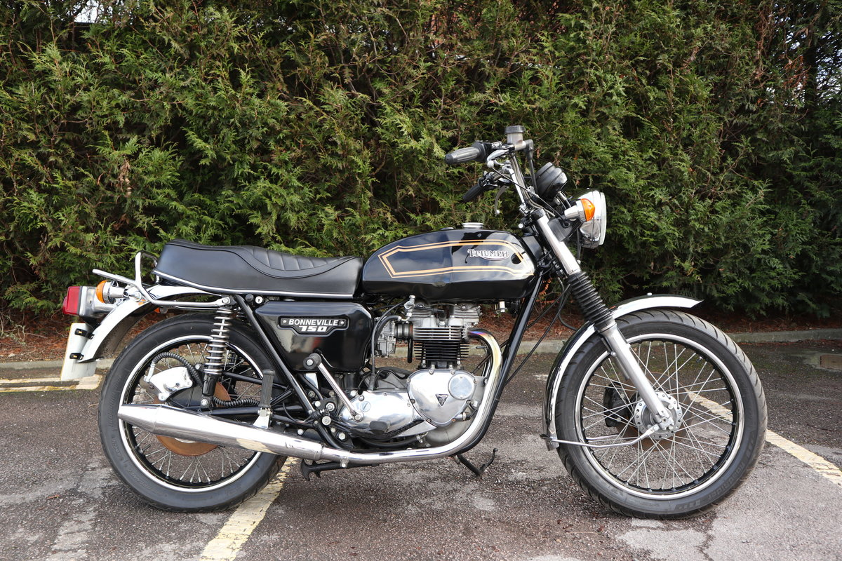 1980 Triumph T140 Bonneville 750cc Matching Number For Sale (picture 3 of 6)