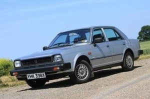 1982 Triumph Acclaim 1.3 CD