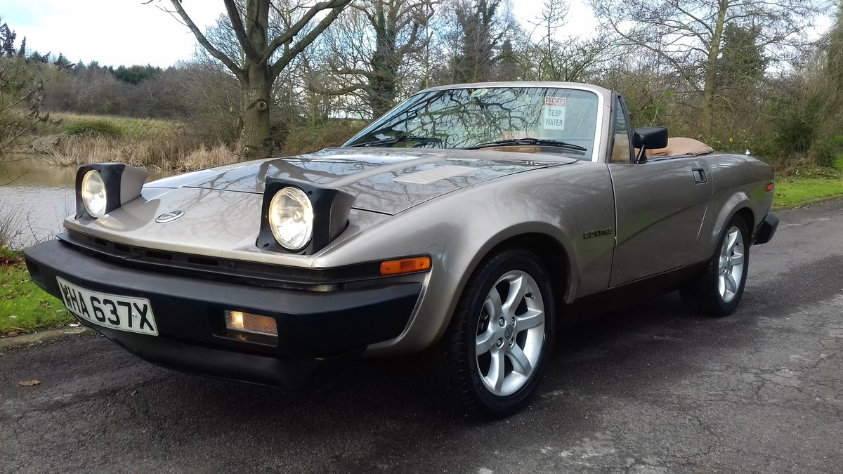 1982 TRIUMPH TR7 CONVERTIBLE~COOL LOOKING 'RETRO' DROPHEAD COUPE For Sale (picture 1 of 6)
