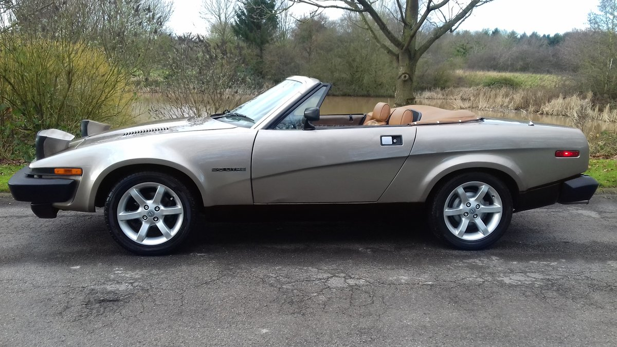 1982 TRIUMPH TR7 CONVERTIBLE~COOL LOOKING 'RETRO' DROPHEAD COUPE For Sale (picture 2 of 6)