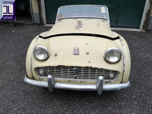 1958 TRIUMPH TR3A FOR RESTORATION For Sale