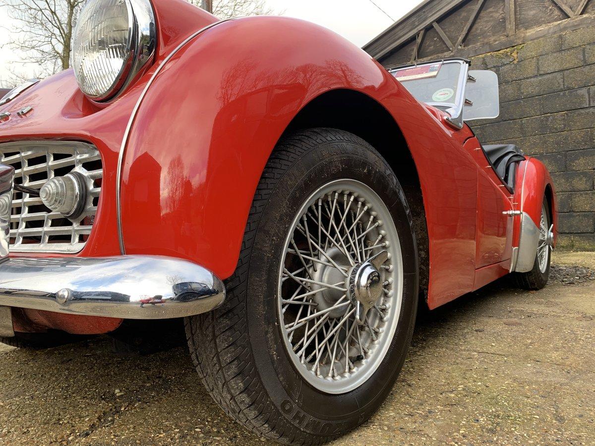 1959 Triumph TR3A For Sale (picture 7 of 24)