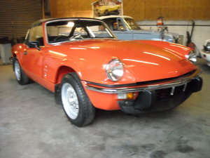 1981 TRIUMPH SPITFIRE 1500 STUNNING UN RESTORED CAR For Sale