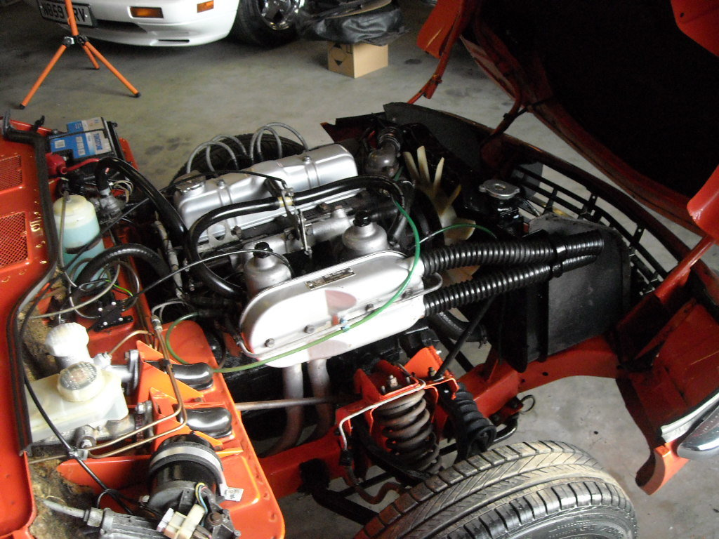 1981 TRIUMPH SPITFIRE 1500 STUNNING UN RESTORED CAR For Sale (picture 3 of 6)