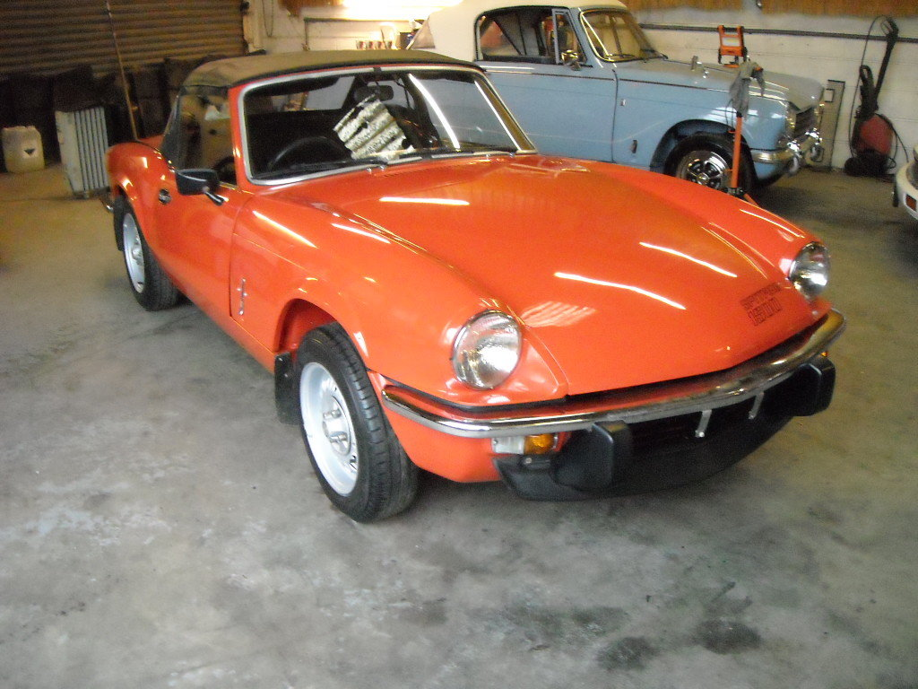 1981 TRIUMPH SPITFIRE 1500 STUNNING UN RESTORED CAR For Sale (picture 6 of 6)