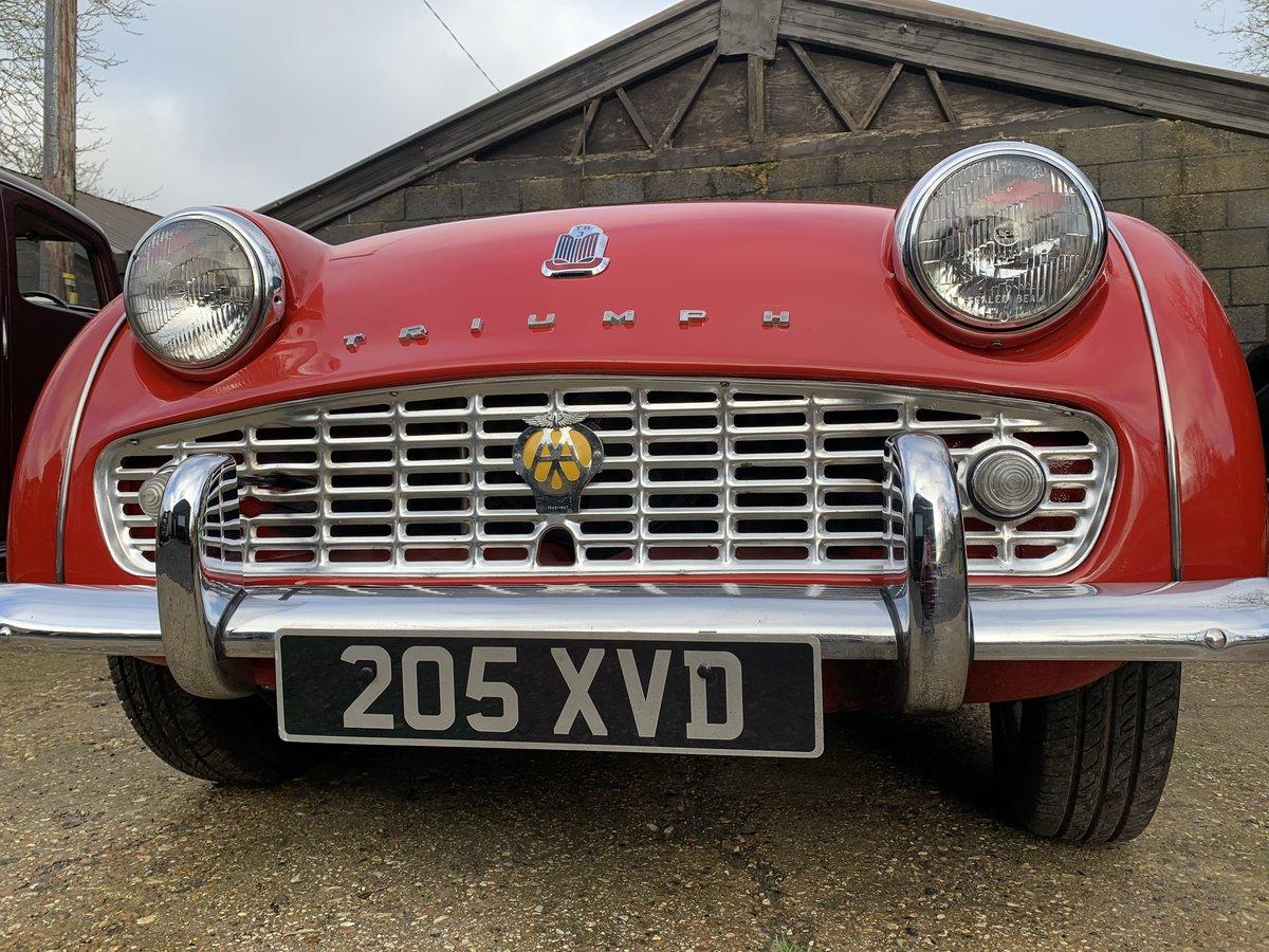 1959 Triumph TR3A For Sale (picture 11 of 24)