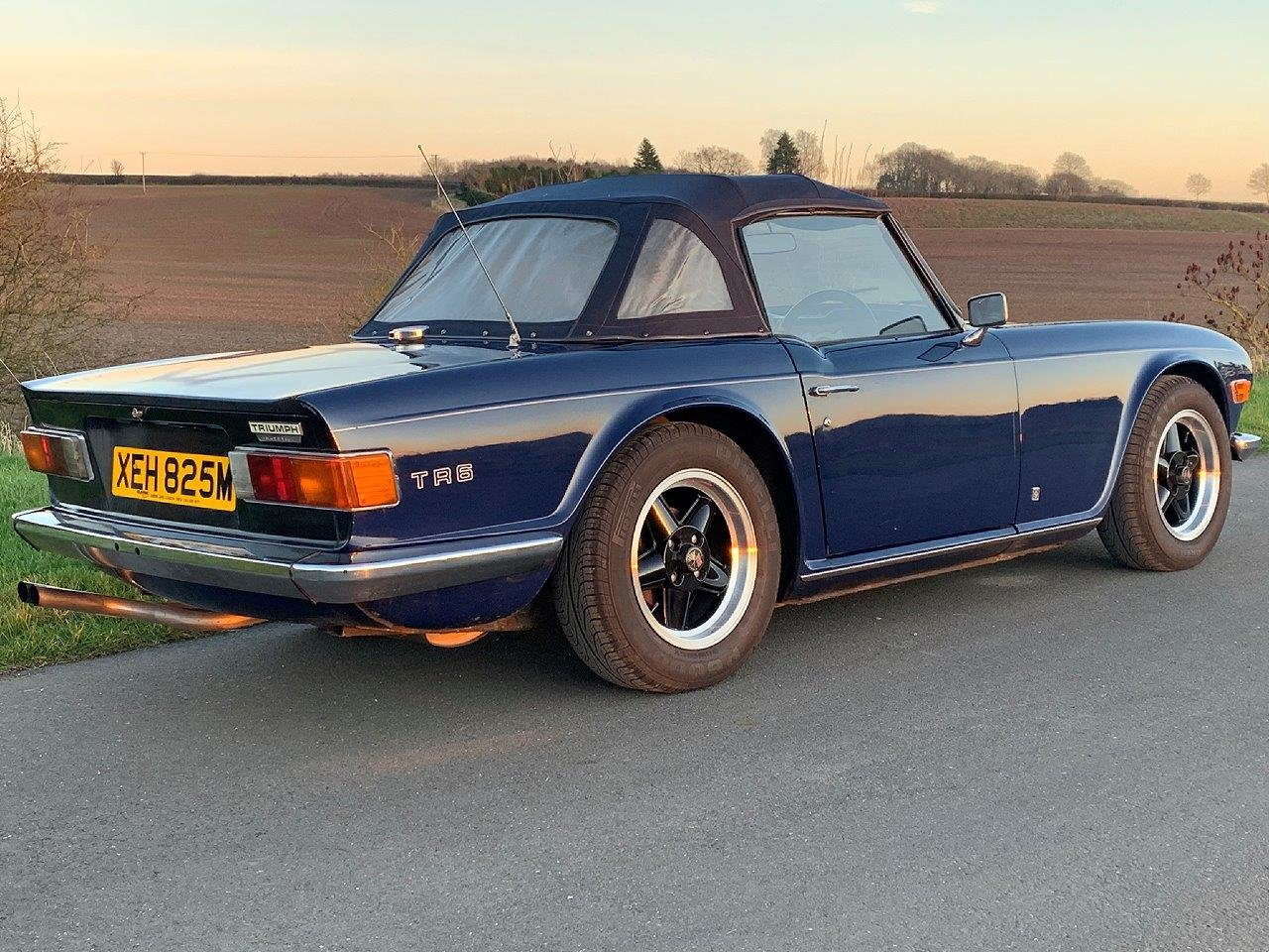 1973/M TRIUMPH TR6 CR MANUAL O/D For Sale (picture 2 of 6)
