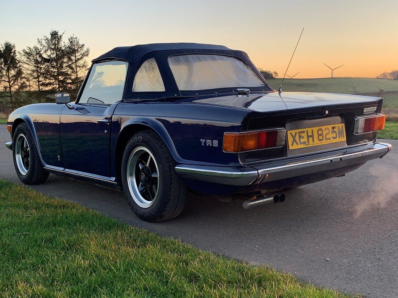 1973/M TRIUMPH TR6 CR MANUAL O/D For Sale (picture 3 of 6)