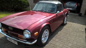 1969 tr6 - rustfree - overdrive - efi - lhd
