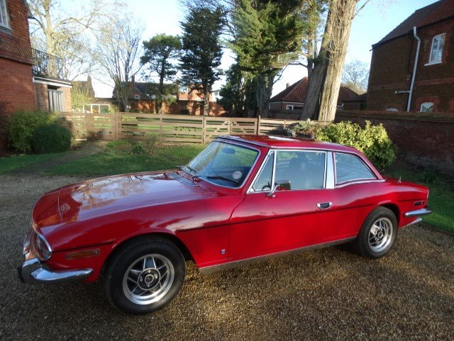 1978 Triumph Stag 3.0 Auto at ACA 25th January  For Sale (picture 3 of 6)