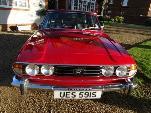 1978 Triumph Stag 3.0 Auto at ACA 25th January  For Sale (picture 4 of 6)