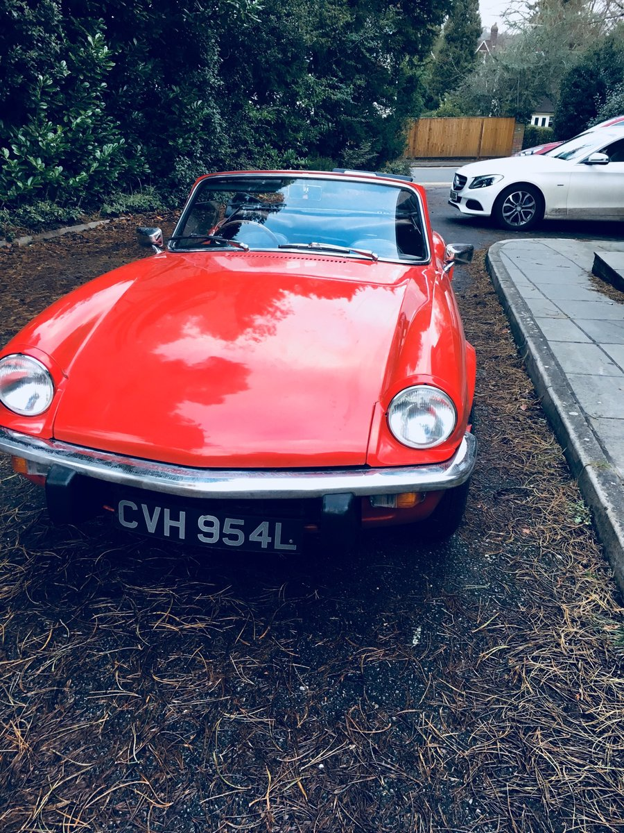 1972 Triumph Spitfire IV 1300 For Sale (picture 2 of 6)