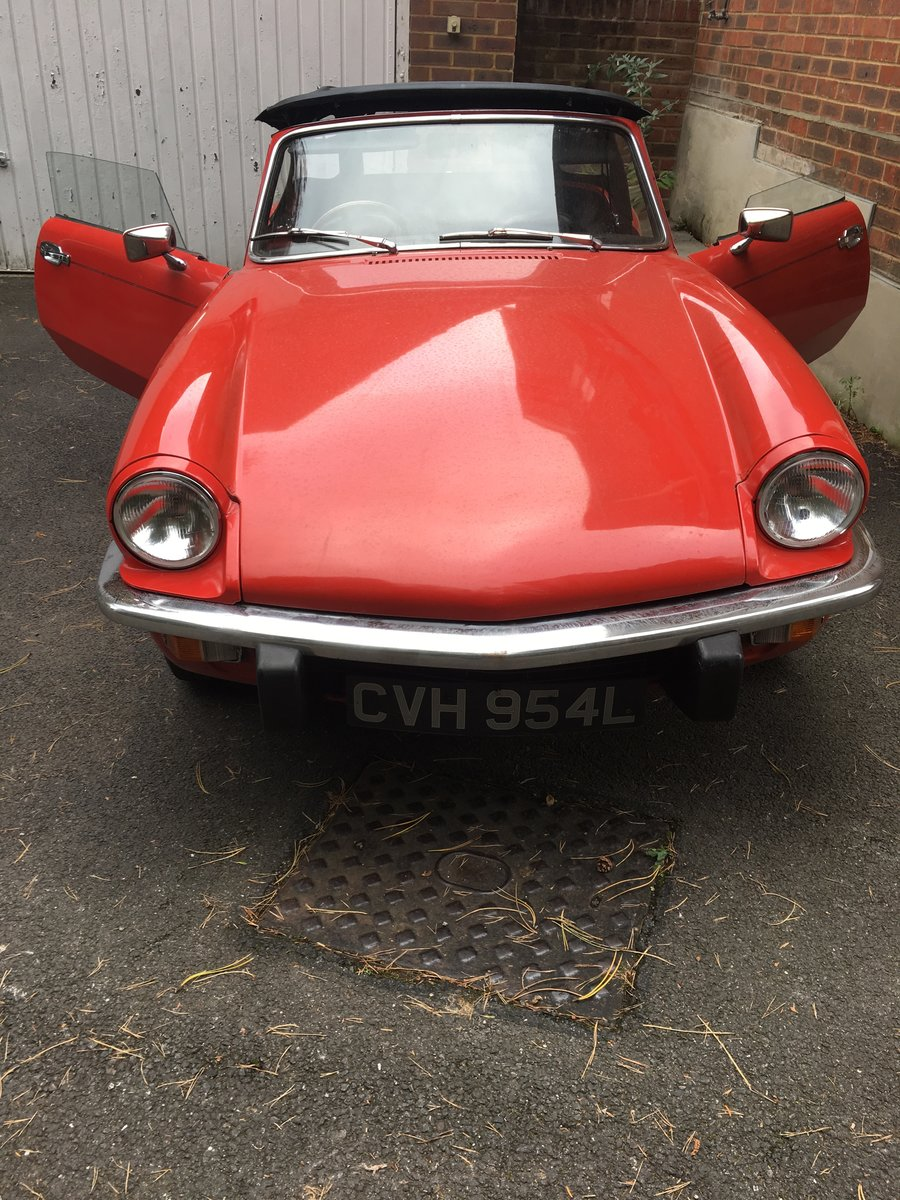 1972 Triumph Spitfire IV 1300 For Sale (picture 3 of 6)