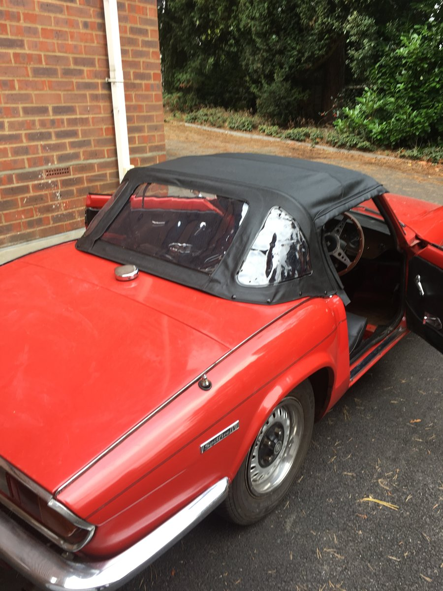 1972 Triumph Spitfire IV 1300 For Sale (picture 4 of 6)