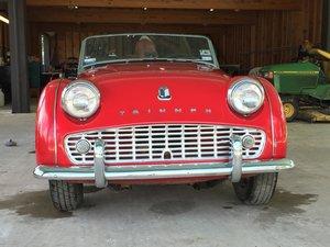 Triumph TR3a 1960 LHD