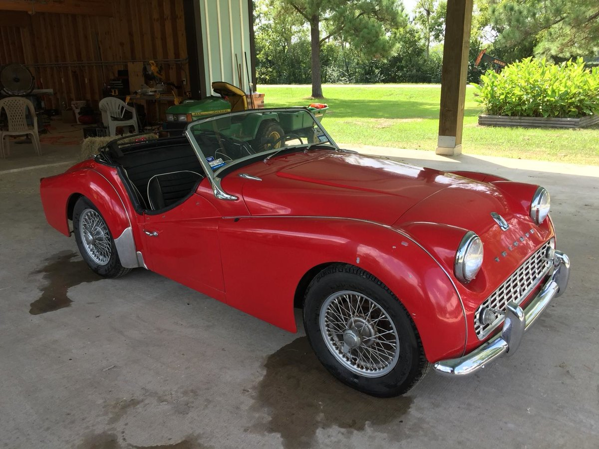 Triumph TR3a 1960 LHD SOLD (picture 2 of 6)