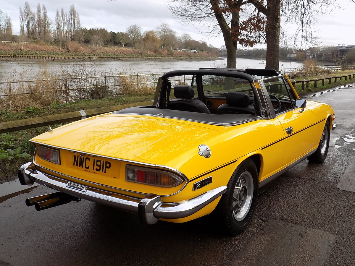 1976 TRIUMPH STAG MKII MANUAL WITH OVERDRIVE - RESTORED  SOLD (picture 5 of 6)