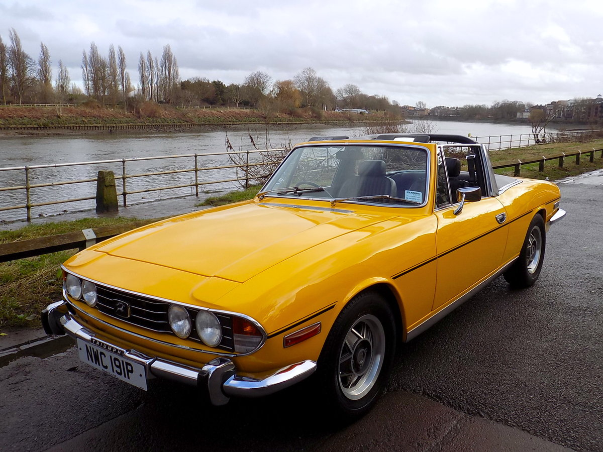 1976 TRIUMPH STAG MKII MANUAL WITH OVERDRIVE - RESTORED  SOLD (picture 6 of 6)