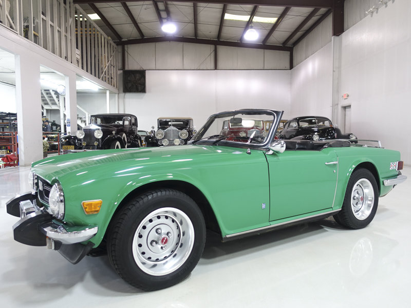 Java Green 1975 Triumph TR6 Roadster For Sale (picture 1 of 6)