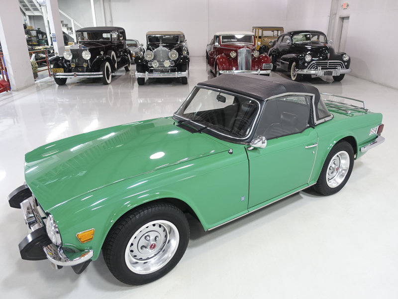 Java Green 1975 Triumph TR6 Roadster For Sale (picture 3 of 6)