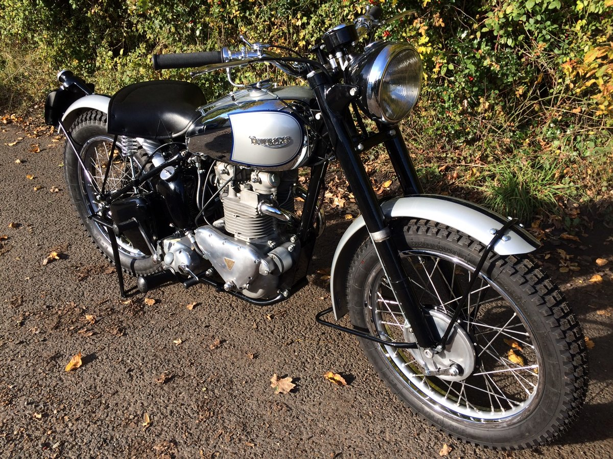1949 Rare TR5Trophy fully restored For Sale (picture 1 of 6)