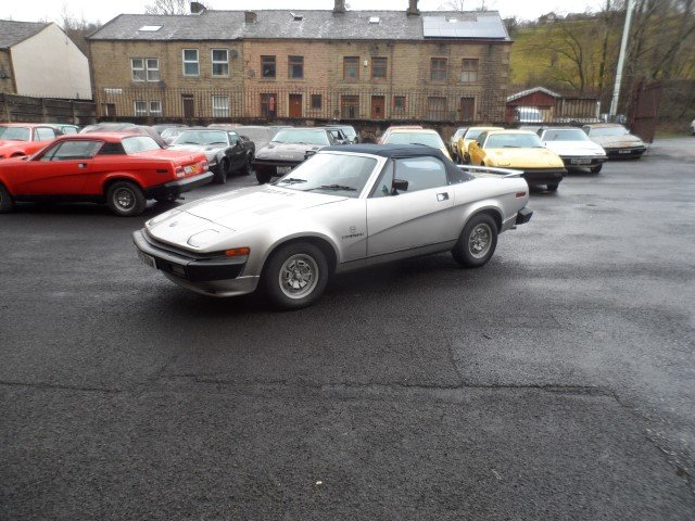 1981 Triumph TR7 DHC For Sale (picture 1 of 6)