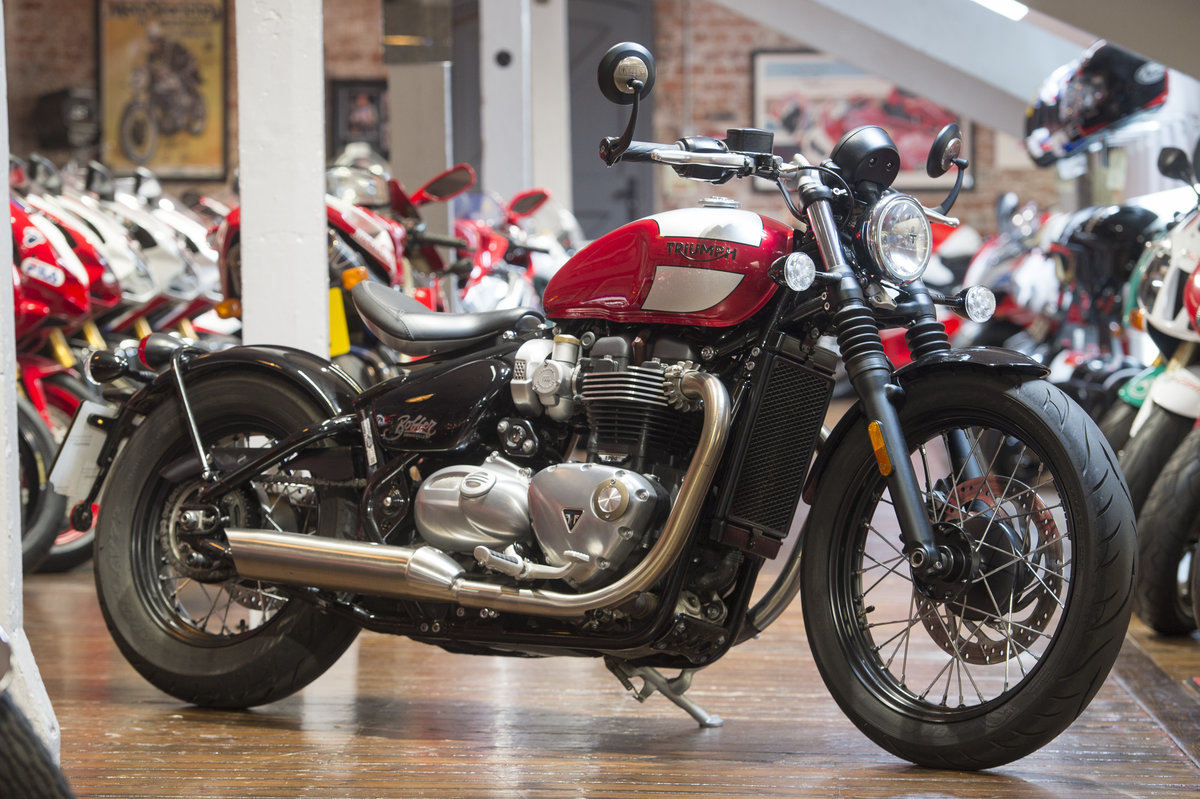 2018 Triumph Bobber Low Mileage example For Sale (picture 1 of 6)
