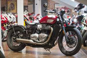Triumph Bobber Low Mileage example