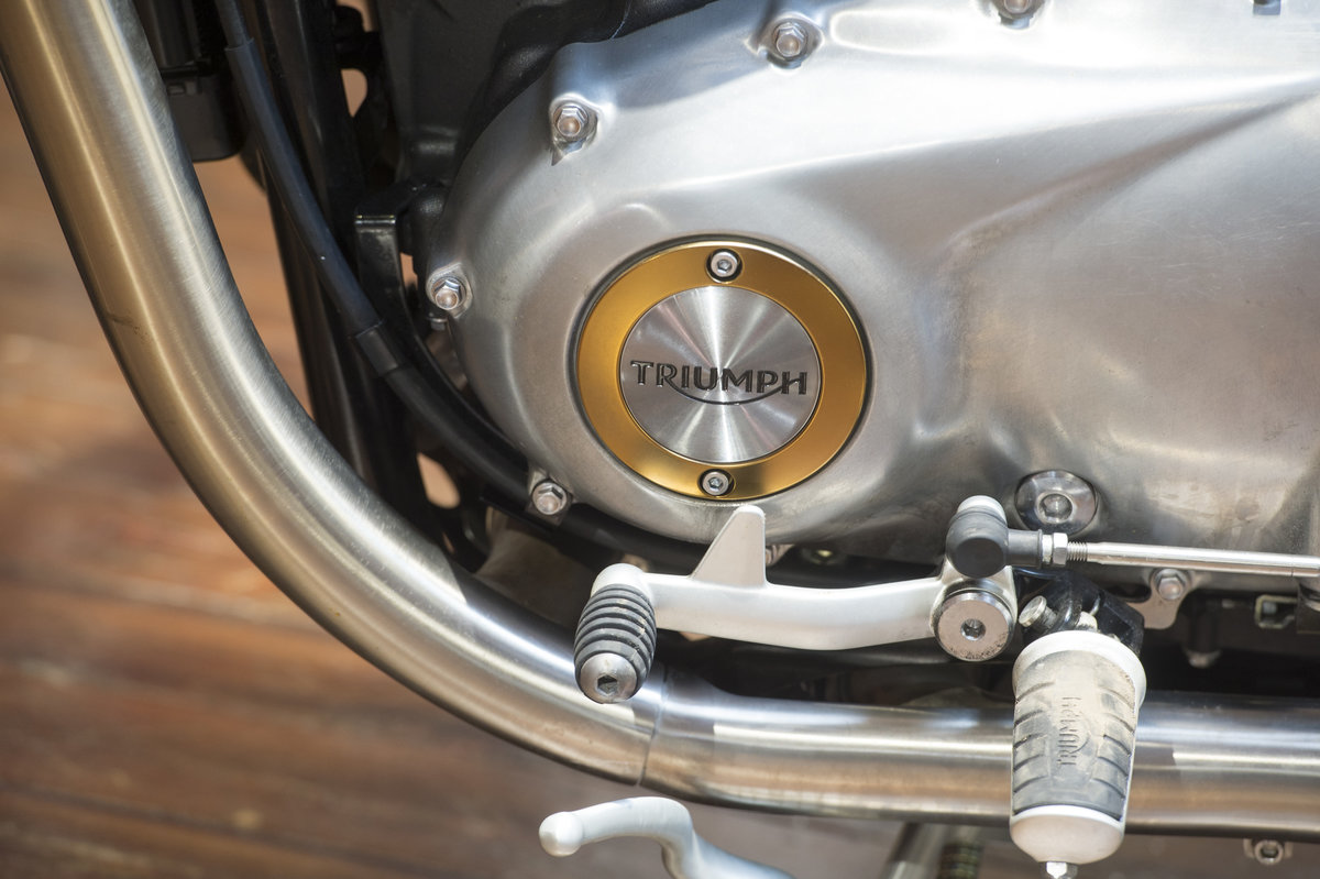 2018 Triumph Bobber Low Mileage example For Sale (picture 5 of 6)