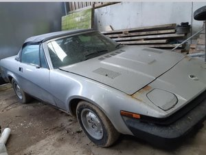 1981 Tr7 convertible for restoration