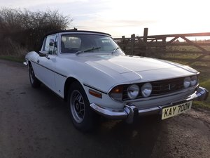 1974 Triumph Stag Manual Overdrive with Hardtop For Sale