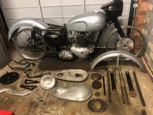 1955 Triumph T110 (Project)