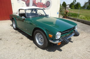 1976 Triumph TR 6 carb. model
